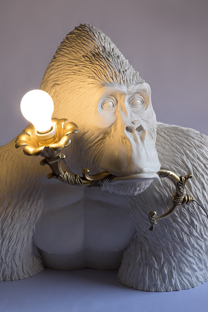 JUST A DRAG (GORILLA WITH LAMP) - Marcantonio design