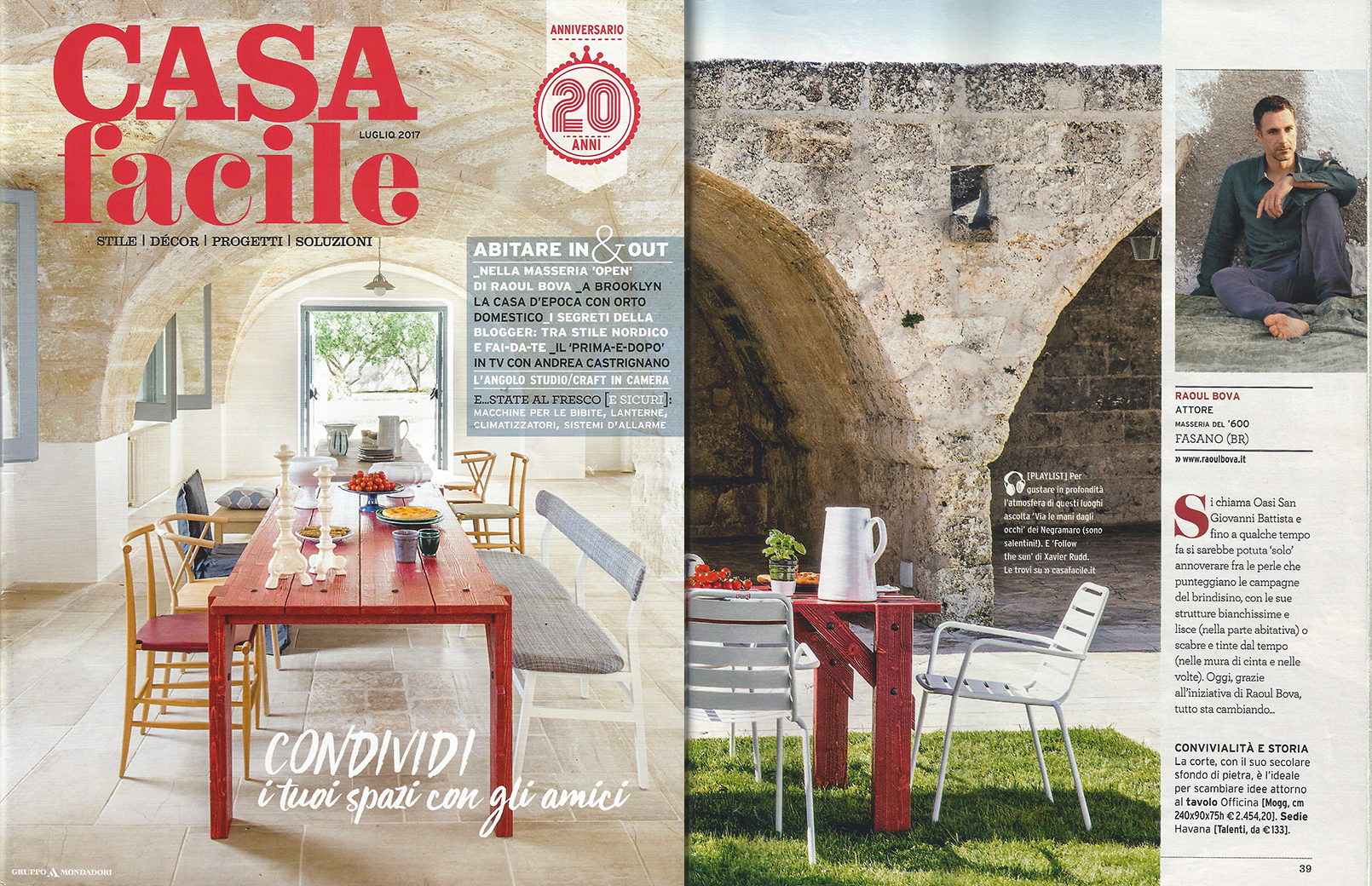 CASA FACILE - 20 YEARS SPECIAL - July 2017 | Marcantonio Raimondi ...