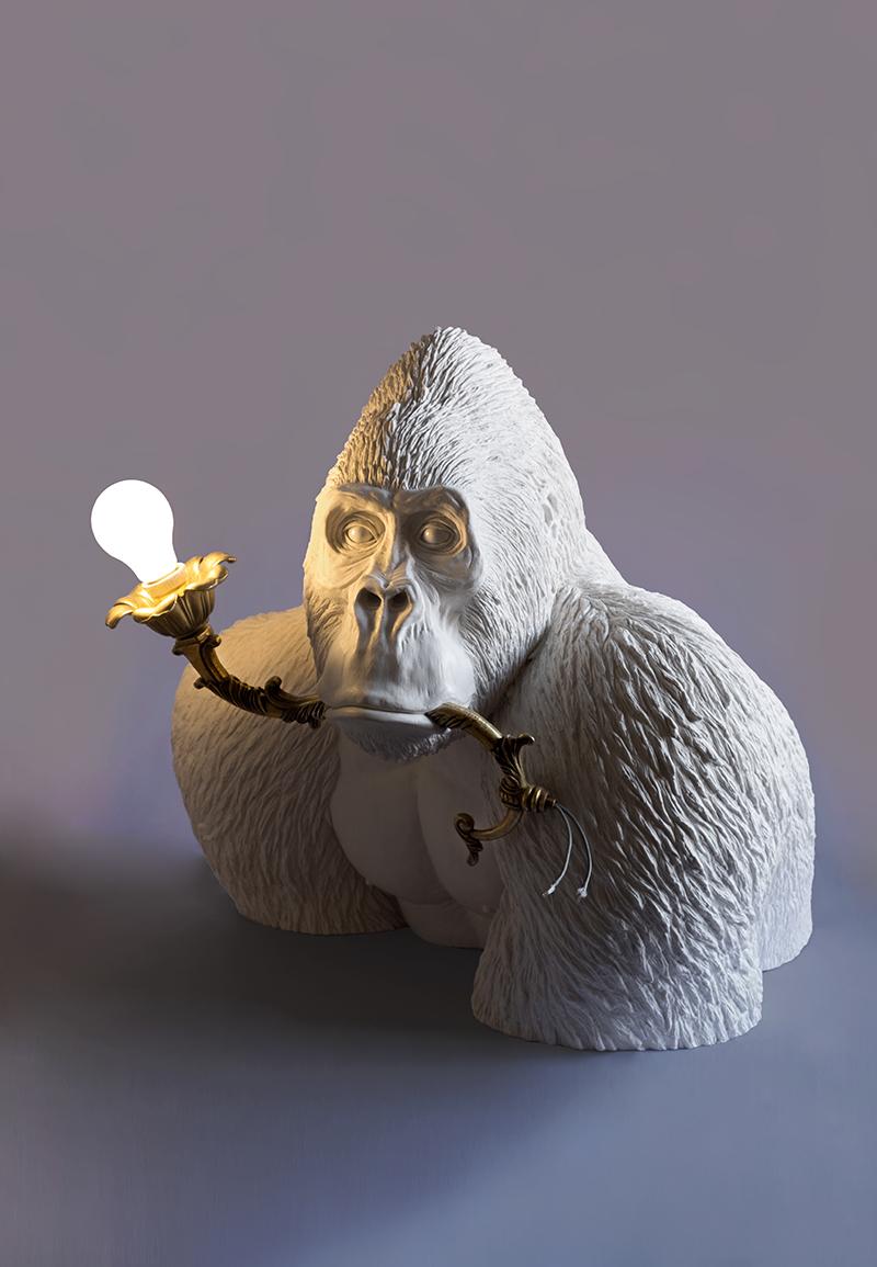 JUST A DRAG (GORILLA WITH LAMP) - Marcantonio design