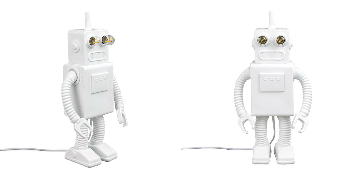 ROBOT LAMP - Marcantonio Design