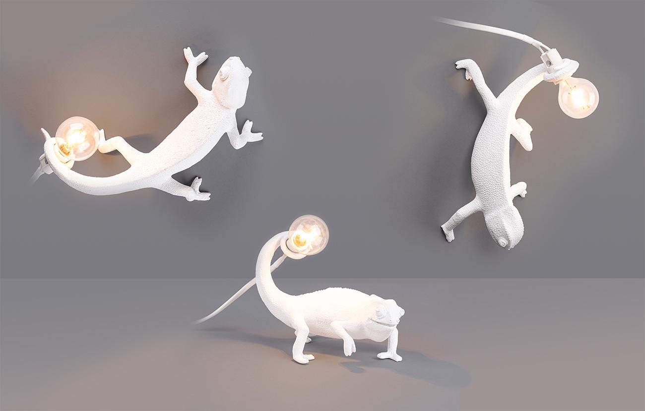 CHAMELEON LAMP - Marcantonio design