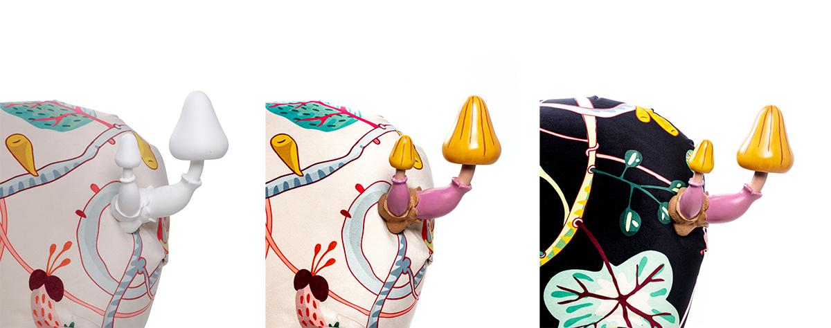 MUSHROOM HANGERS - Marcantonio design