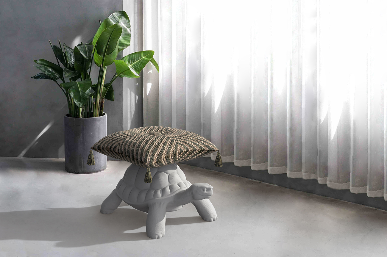 TURTLE CARRY POUF - Marcantonio design