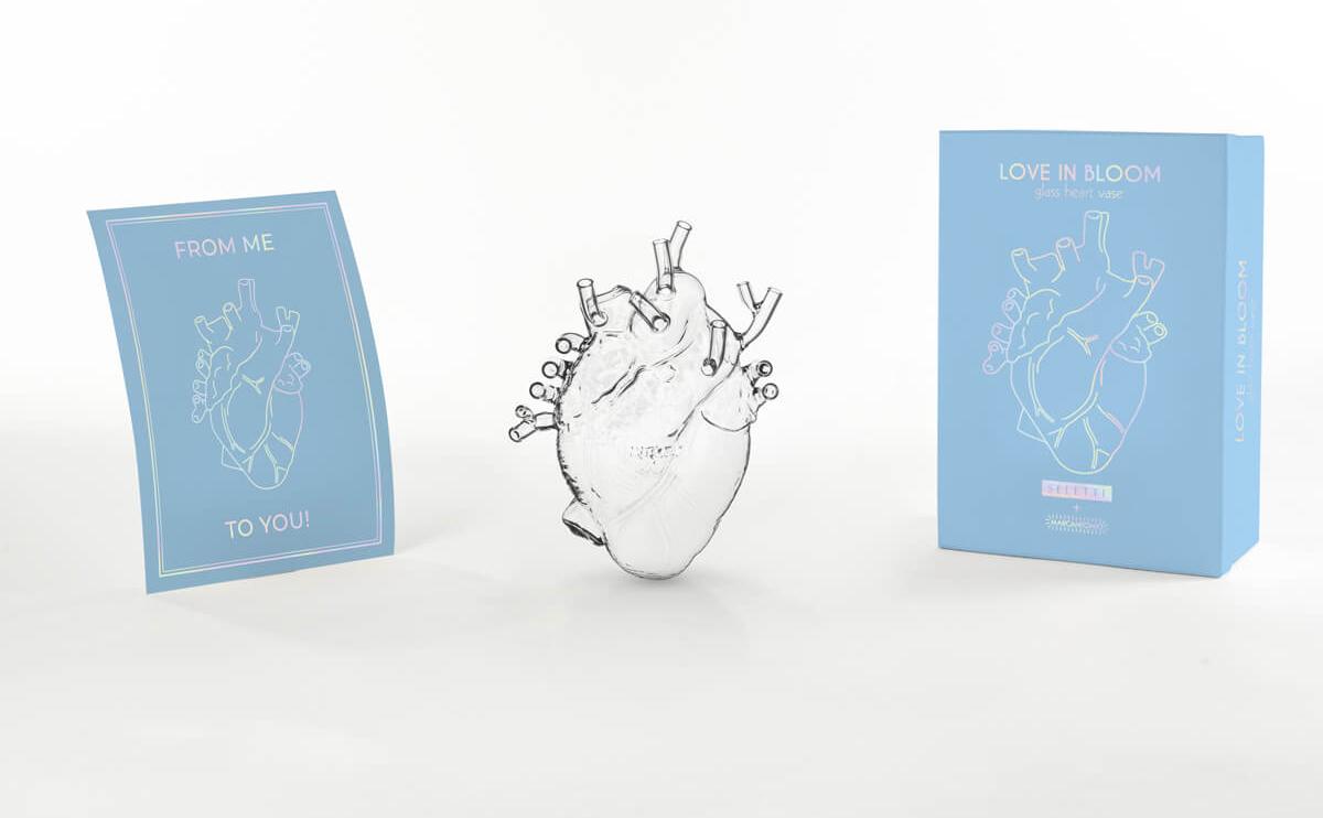 LOVE IN BLOOM GLASS - Marcantonio design