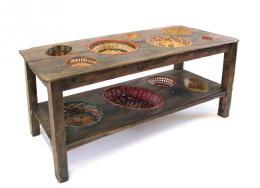 BASKET TABLE - Marcantonio design