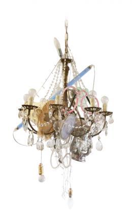 different lamps in one chandelier - Marcantonio design